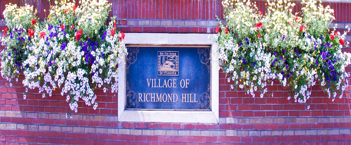 City of Richmond Hill, Ontario , Canada.